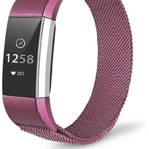 Jewelry - Fitbit charge 2 magnetic band purple/red